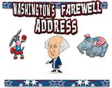 George Washington Farewell Address Comic Lesson Plan