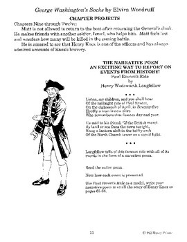 George Washington's Socks Literature Guide
