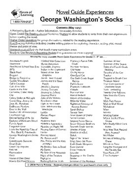 George Washington's Socks Literature Guide