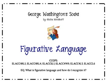 George Washington's Socks Figurative Language Booklet