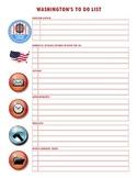 "George Washington's ""To Do"" List"