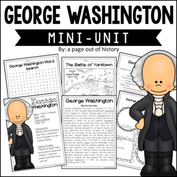 George Washington Biography Pack (U.S. Presidents)