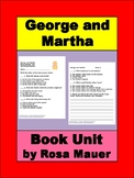 George and Martha Book Unit