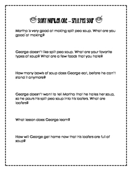 George and Martha - Guided Reading Comprehension Questions