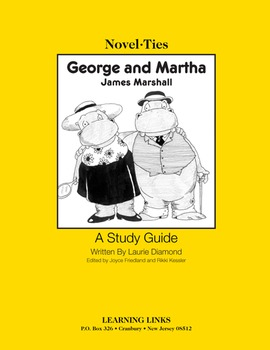 George and Martha - Novel-Ties Study Guide