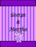 George and Martha the Original Book with Printables