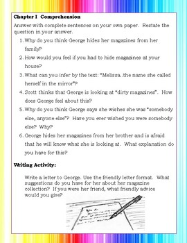 George by Alex Gino Reading Novel Literature Study Guide Teaching Unit COMPLETE