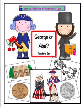 George or Abe Teaching Set