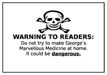 George's Marvellous Medicine-Roald Dahl