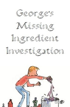 George's Missing Ingredients Maths Investigation