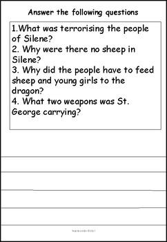 George the Dragon Slayer
