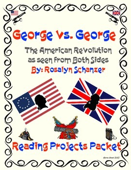 George vs. George Reading Projects Packet