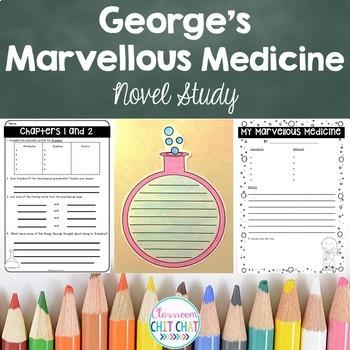 George's Marvellous Medicine Novel Study - Chapter Reading Responses