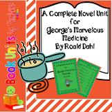 George's Marvelous Medicine by Roald Dahl Book Unit