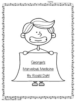 George's Marvelous Medicine Literature Study