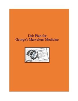 George's Marvelous Medicine Complete Literature and Grammar Unit