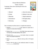George's Marvelous Medicine Vocabulary and Comprehension Packet