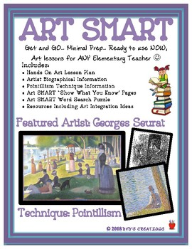 Pointillism Art Ideas Easy