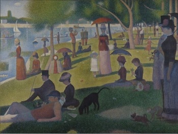 "Georges Seurat - ""A Sunday Afternoon on the Island of La Grande Jatte"""