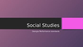 Georgia 3rd Grade Cumulative Social Studies Review