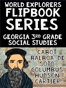 Georgia 3rd Grade Explorers Mini Flipbook Set