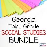 Georgia 3rd Grade Social Studies Posters Bundle