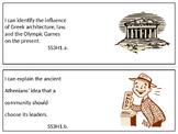 Georgia 3rd grade Social Studies Standards (editable)