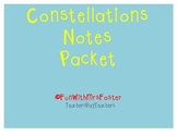 Georgia 4th Grade Constellations Notes Packet