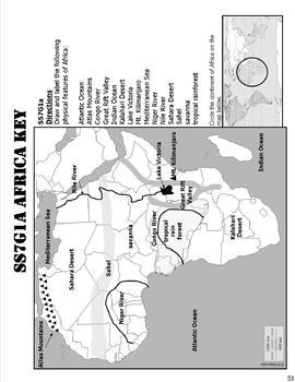 Updated Georgia 7th Grade Social Studies Map Pack