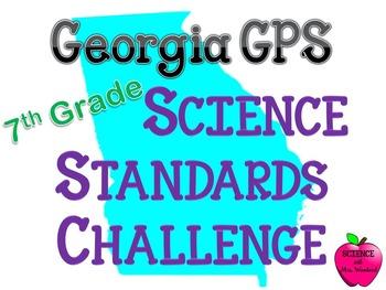 Georgia 7th grade Life Science Standards Challenge