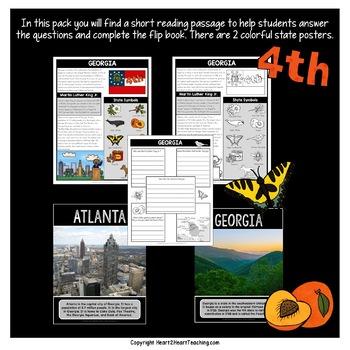 Georgia: A State Study Mini-Unit & Flip Book