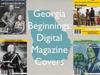 Georgia Beginnings Digital Magazine Covers