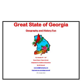 Georgia Board Game