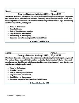 Georgia Business Activity