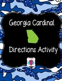 Georgia Cardinal Directions Activity