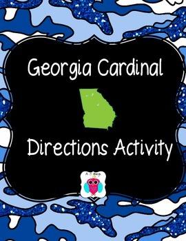 Georgia Cardinal Directions Activity