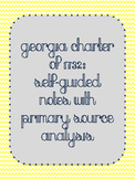 Georgia Charter of 1732: Primary Source Analysis