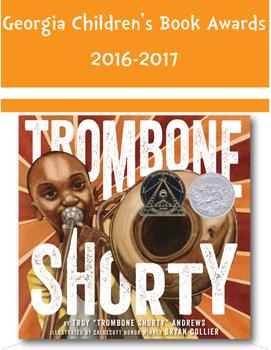Georgia Children's Book Awards Picture Book Poster Set 2016-2017