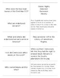 Georgia Civil War Quizlet Flashcards