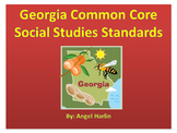 Georgia Common Core Social Studies Standards Second Grade