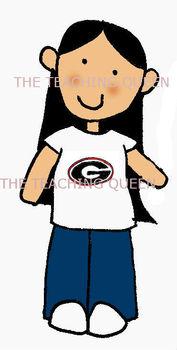 Georgia Dawgs Clip Art