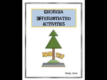 Georgia Differentiated State Activities