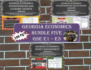 Georgia Studies: Economics (SS8E1 - SS8E3) Bundle 5