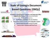 Georgia Economics and Geographic Regions DBQs - 264 DBQs and 5 Different Topics