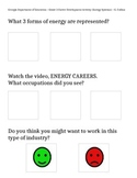 Georgia Energy Career Cluster - 3rd grade (Adapted for Spe