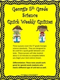 Georgia Fifth Grade Science Quizzes
