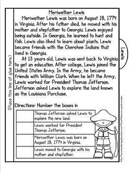 Georgia First Grade Historical Figures Tab Booklet Set