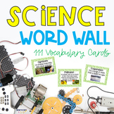 Georgia Fourth Grade Science Word Wall
