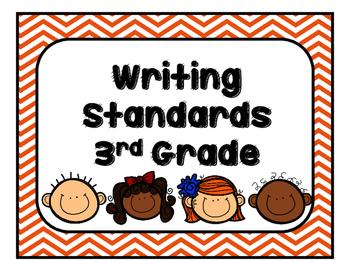 Georgia (GSE) Writing Standards Third Grade