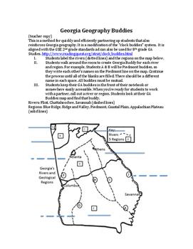 Georgia Geography Buddies